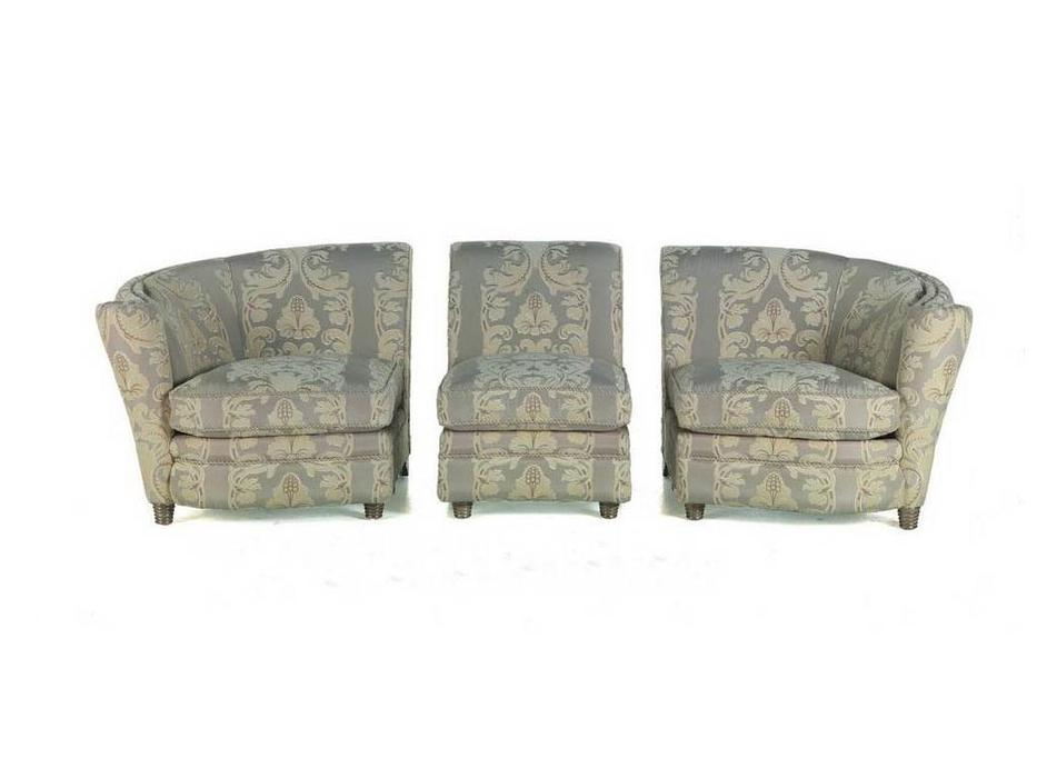 Zanaboni: диван 3-х местный Millennium  ткань кат.6