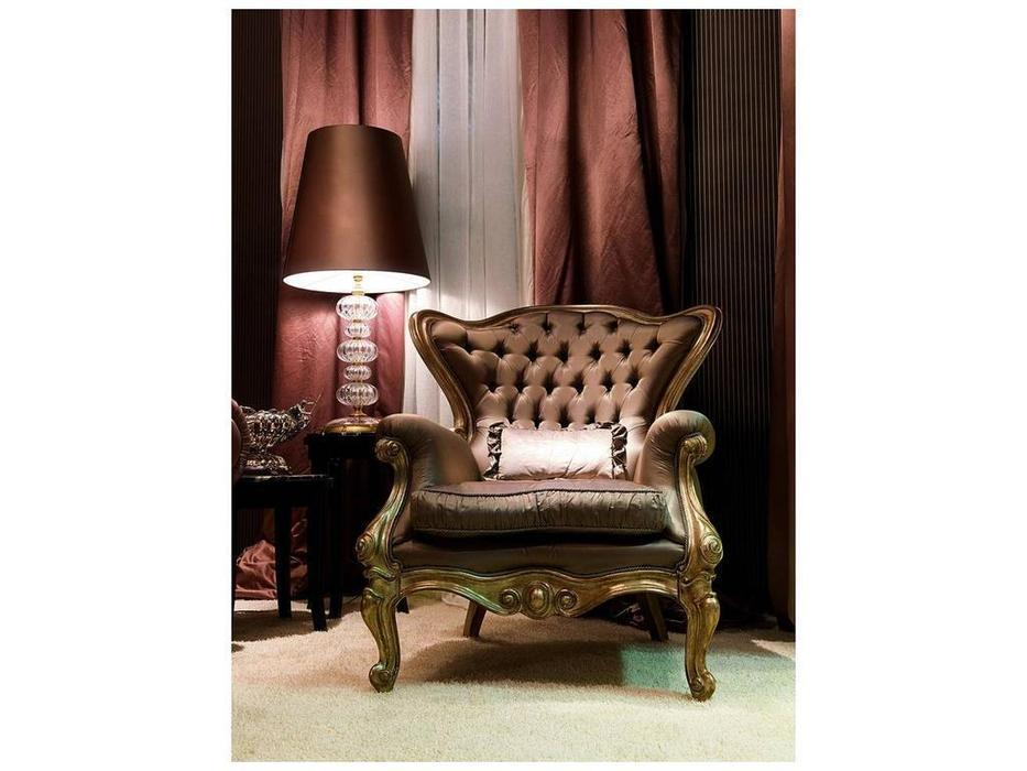 Zanaboni: кресло Ottocento ткань кат.6