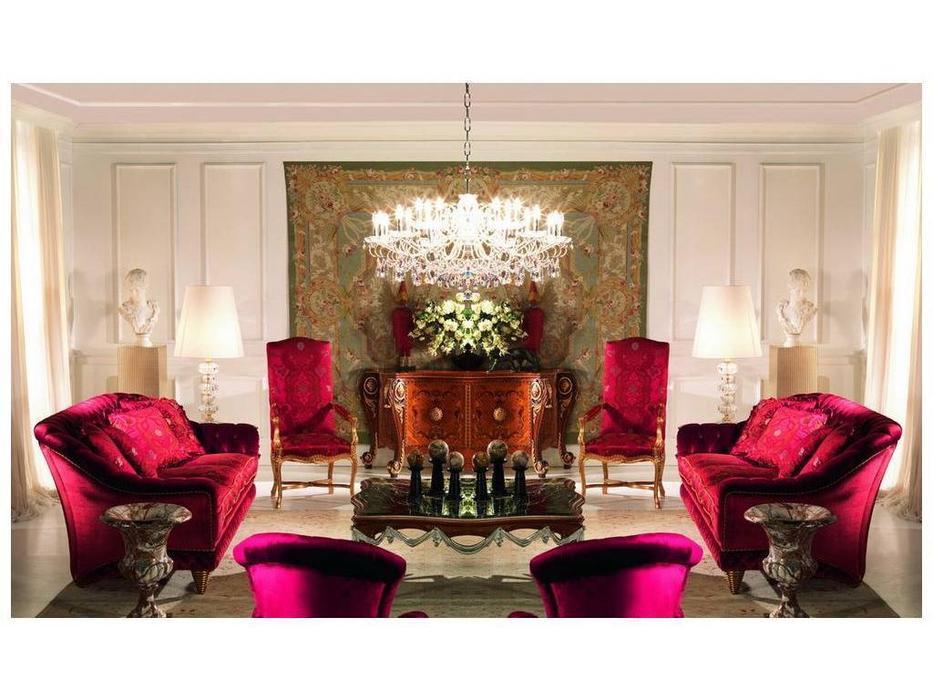Zanaboni: комплект мягкой мебели Shanghai+W010 ткань кат.6