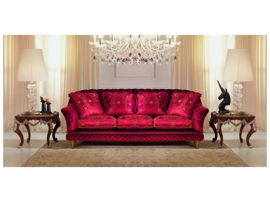 Zanaboni: диван 3-х местный Shanghay ткань кат.6
