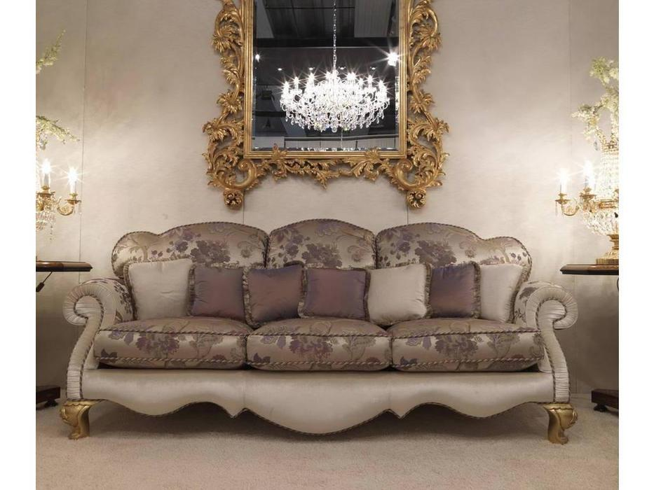 Zanaboni: диван 3-х местный Signoria ткань кат.6