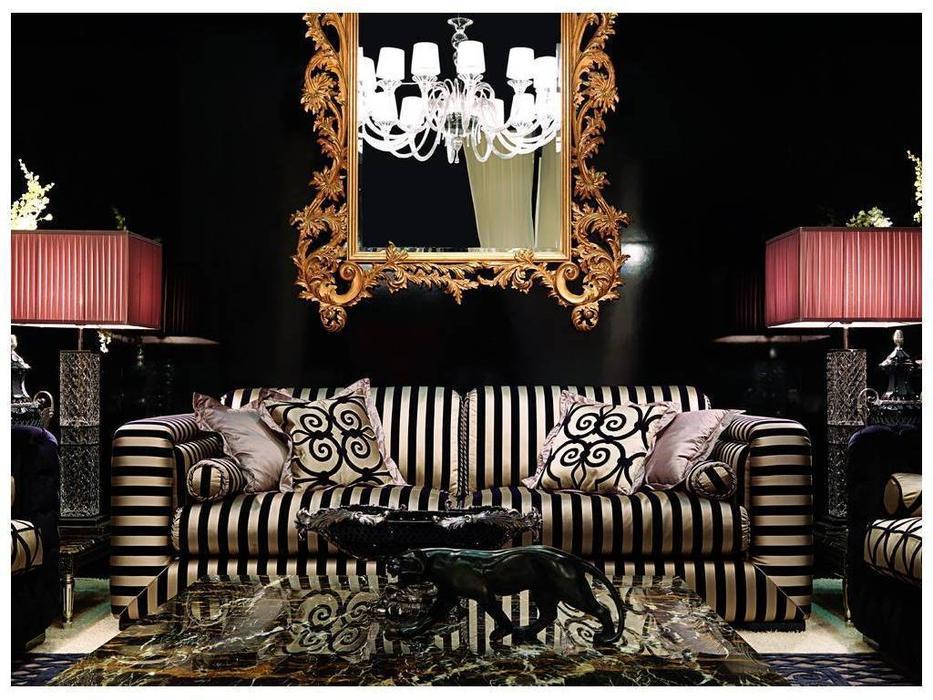 Zanaboni: Ambra: диван 3-х местный ткань кат.5
