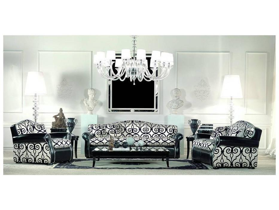Zanaboni: Cashmere: комплект мягкой мебели кожа кат.G