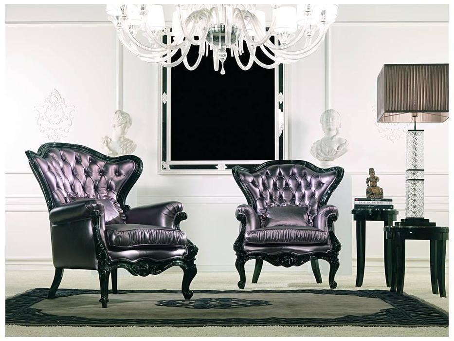Zanaboni: кресло Ottocento ткань кат.7