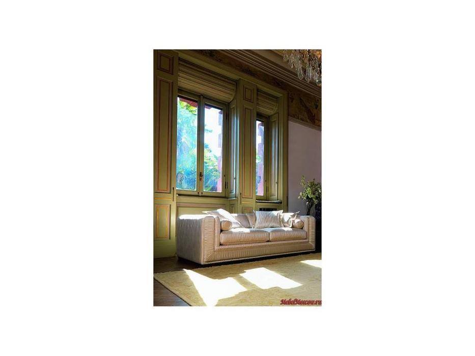 Zanaboni: Bisanzio: диван 2-х местный ткань кат.5
