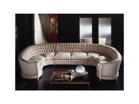 Zanaboni: Millennium: диван эркерный  ткань кат.3
