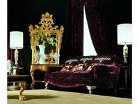 Zanaboni: Asia: диван 3-х местный ткань кат.3 подушки с вышивкой