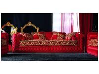 Zanaboni: Atlantique decor: диван 3-х местный ткань кат.5