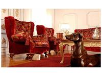 Zanaboni: кресло Royal ткань кат.4