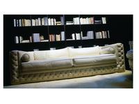 Zanaboni: Atlantique big: диван 3-х местный кожа кат.G