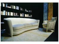 Zanaboni: диван 3-х местный Millennium кожа кат.G