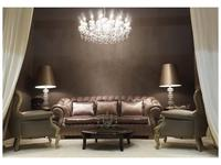 Zanaboni: Barone: диван 3-х местный ткань кат.5