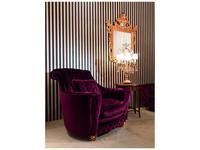Zanaboni: Nuvola: кресло ткань кат.3