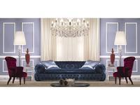 Zanaboni: комплект мягкой мебели Roller_capitonne+Sissi ткань кат.6