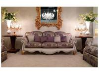 Zanaboni: диван 3-х местный Signoria+T.69 ткань кат.6