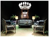 Zanaboni: комплект мягкой мебели Ambra+Oceano+Luigi_XV ткань кат.7