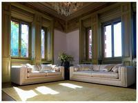 Zanaboni: Bisanzio: комплект мягкой мебели ткань кат.5