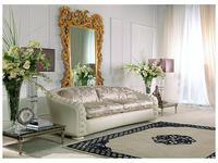 Zanaboni: диван 2-х местный Orfeo кожа, ткань кат. 5