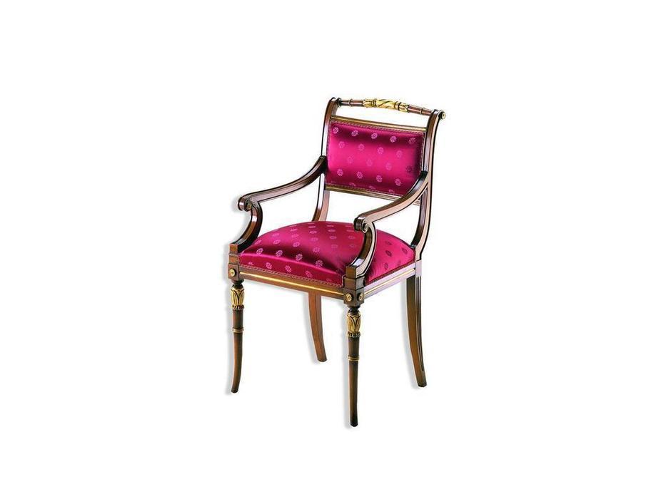 Zanaboni: стул с подлокотниками  ткань кат.2