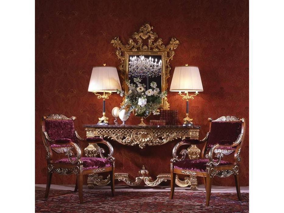 Zanaboni: стул с подлокотниками  ткань кат.4