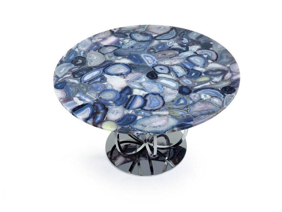 Zanaboni: Agata: стол обеденный  столешница натуральный агат
