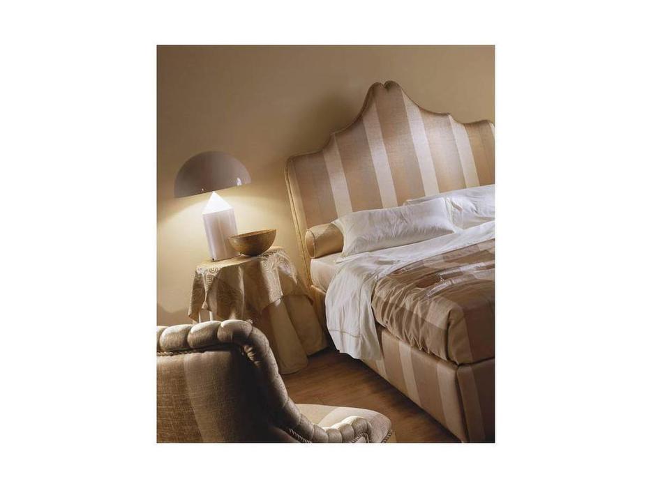 Zanaboni: Dacia: кровать 165х195 ткань кат.2