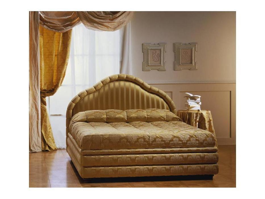 Zanaboni: Venezia: кровать 165х195  ткань кат.2