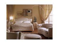 Zanaboni: Millennium: кровать 165x195  ткань кат.2