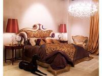 Zanaboni: Barone: кровать 200х200 ткань кат.6