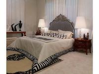 Zanaboni: Canova: кровать 200х200 +W008NT ткань кат.6