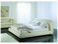 Zanaboni: Atlantique: кровать 185х200 кожа кат.G