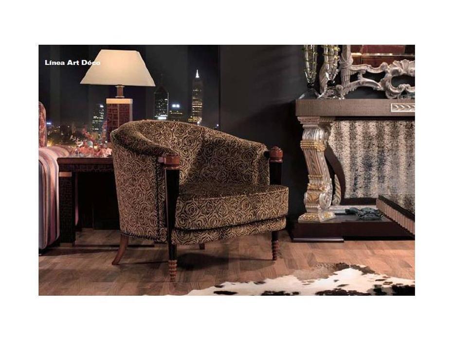 Techni Nova: Harmony: кресло  ткань+Swarovski (серебро, черный)