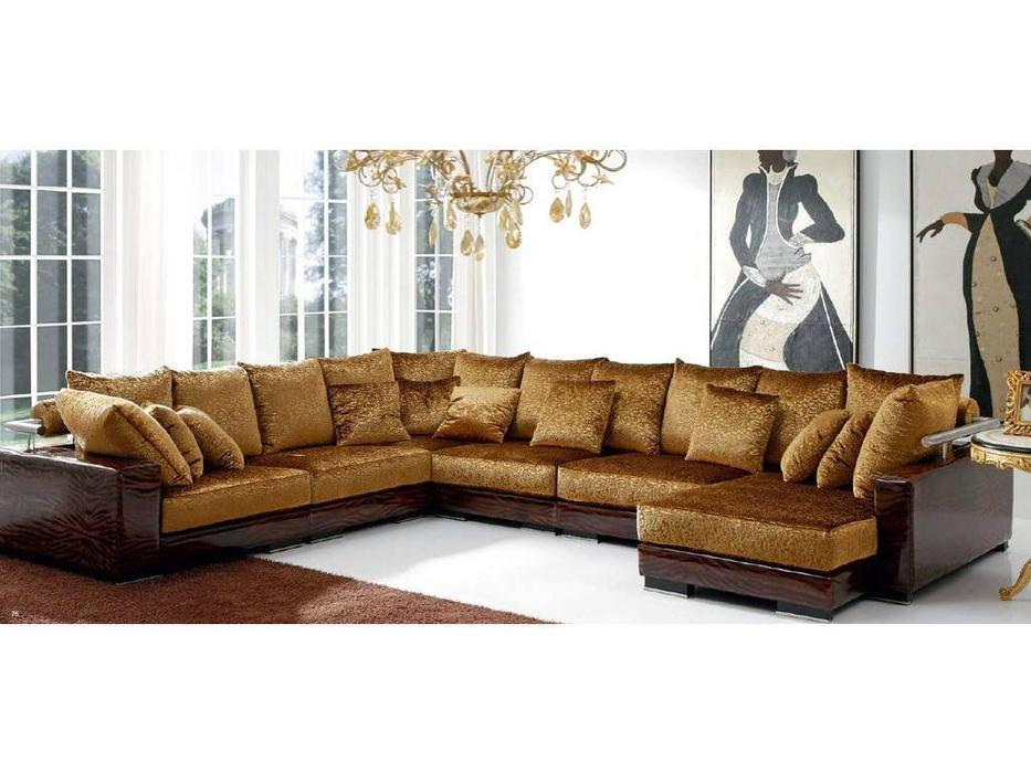 Tecni Nova: Harmony: диван угловой  ткань