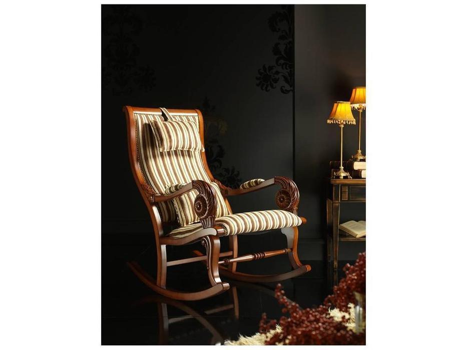 Tecni nova: Argento: кресло-качалка  ткань Serie 5