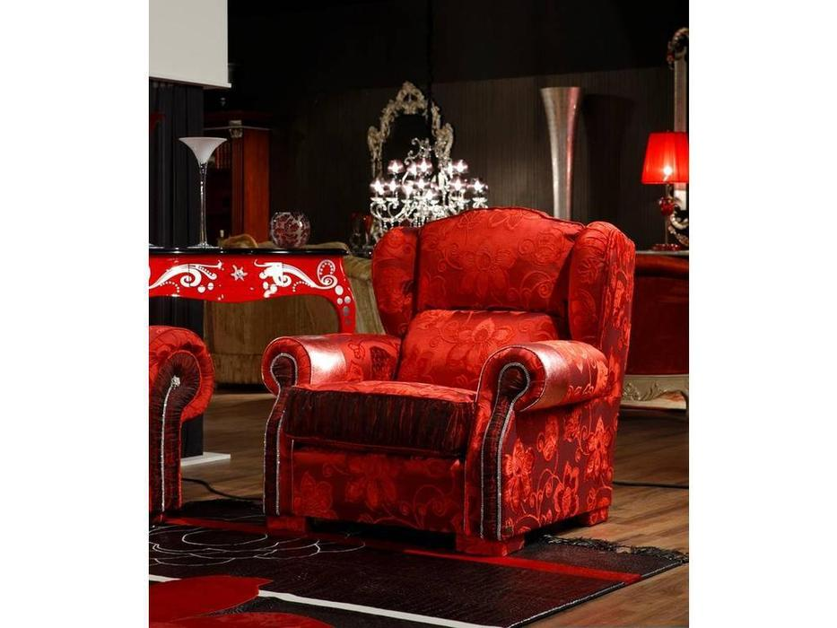 Tecni nova: Diamond: кресло  (ткань Serie Especial, кожа Serie 19)