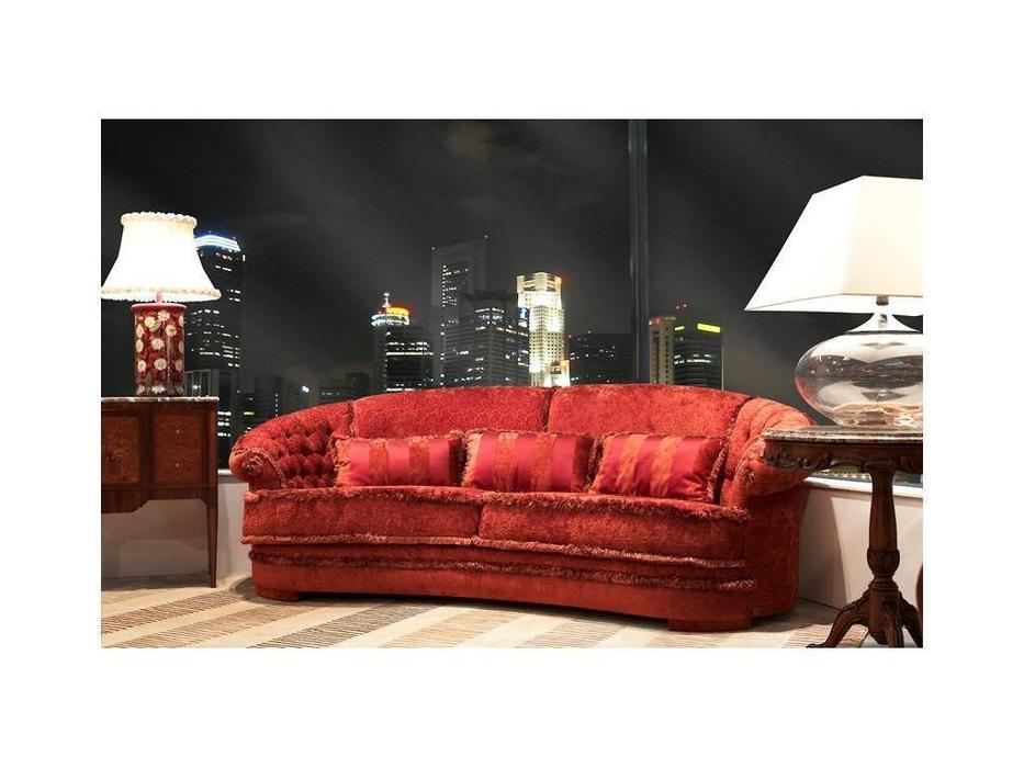 Tecni nova: Elegance: диван 3-х местный  (ткань Serie 8)