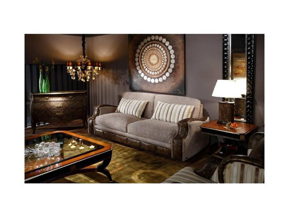 Tecni nova: Valencia 2009: диван 3-х местный 2,30 ткань, кожа
