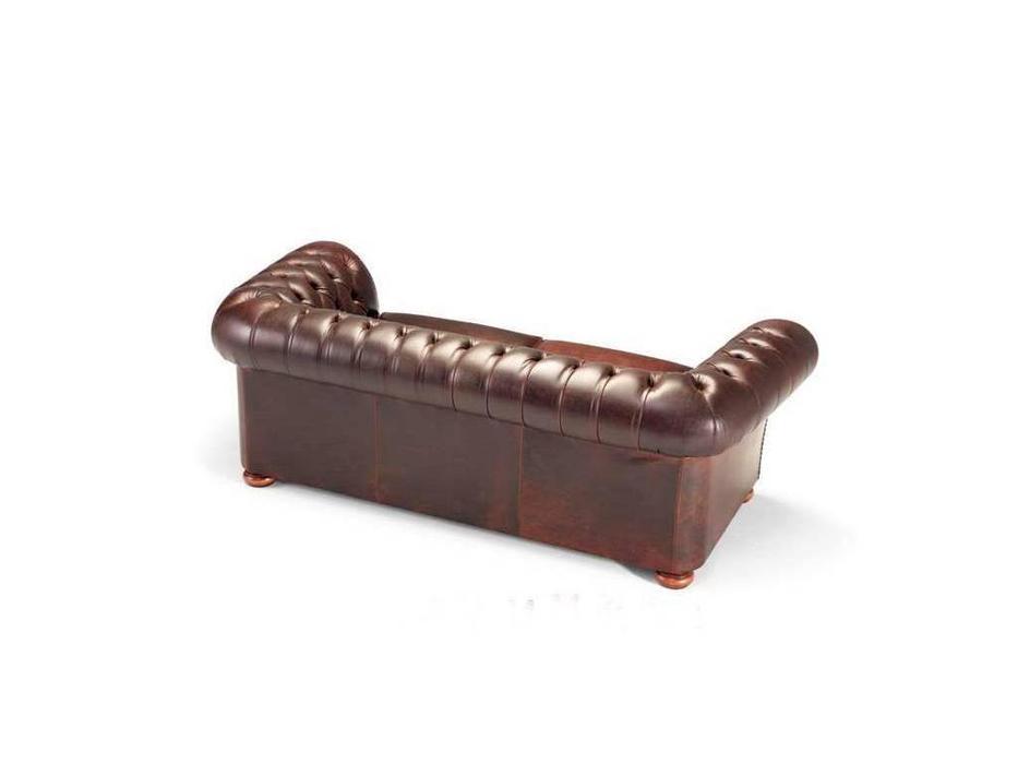 Tecni nova: Glamour: диван 3-х местный Chester кожа