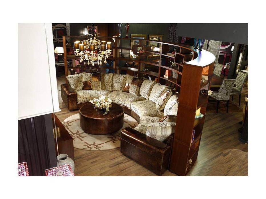 Tecni nova: Glamour: диван эркерный с приставным стеллажом