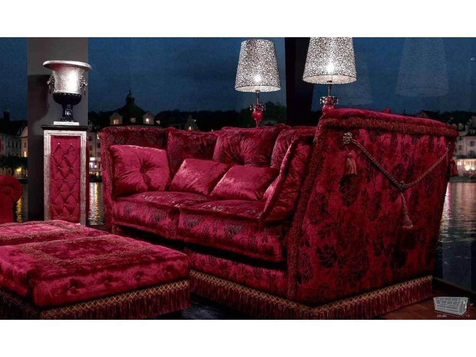 Tecni nova: Glamour: диван 3-х местный 2,65 ткань