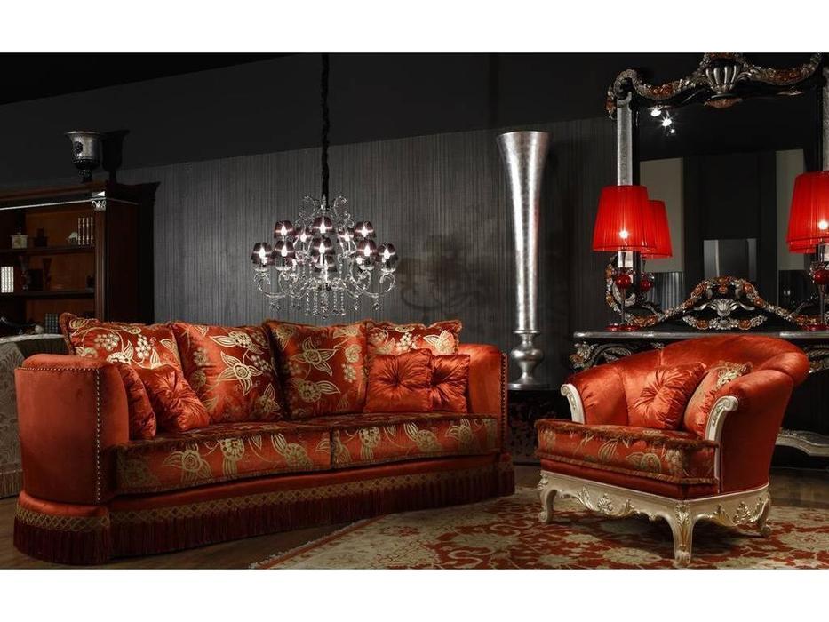 Tecni nova: Glamour: диван 4pl y 1249 кресло