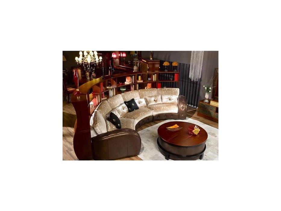 Tecni nova: Glamour: диван эркерный curvos con brazos y 1671 стол botellero
