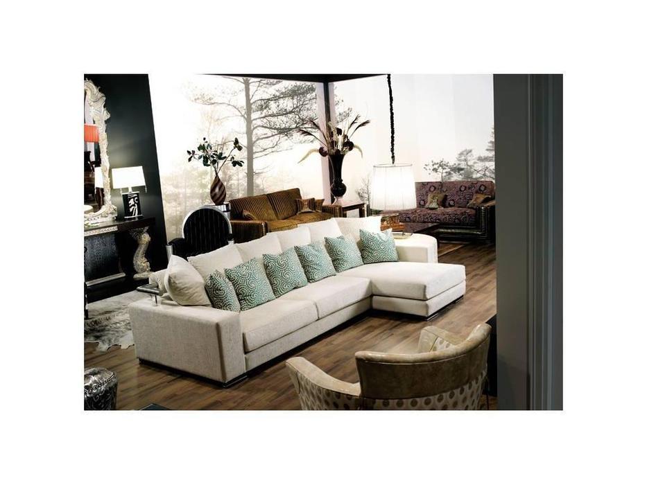 Tecni nova: Harmony: диван 3-х местный 2,30 + шезлонг ткань