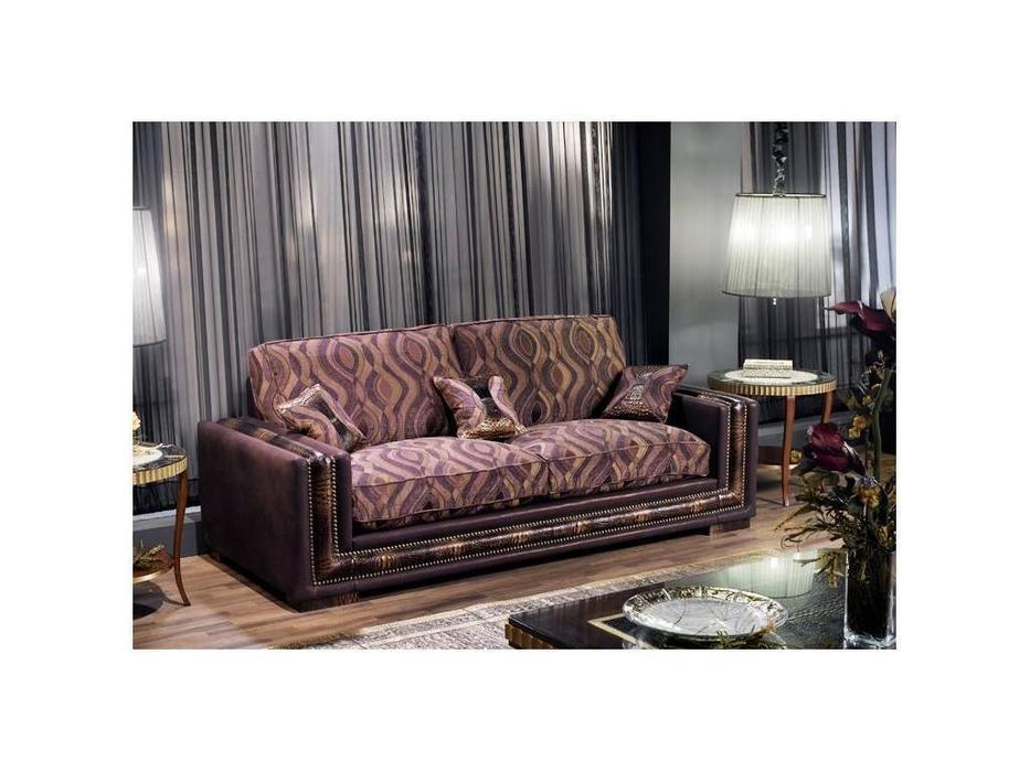 Tecni nova: Harmony: диван 3-х местный 2,35 ткань, кожа Art.1192