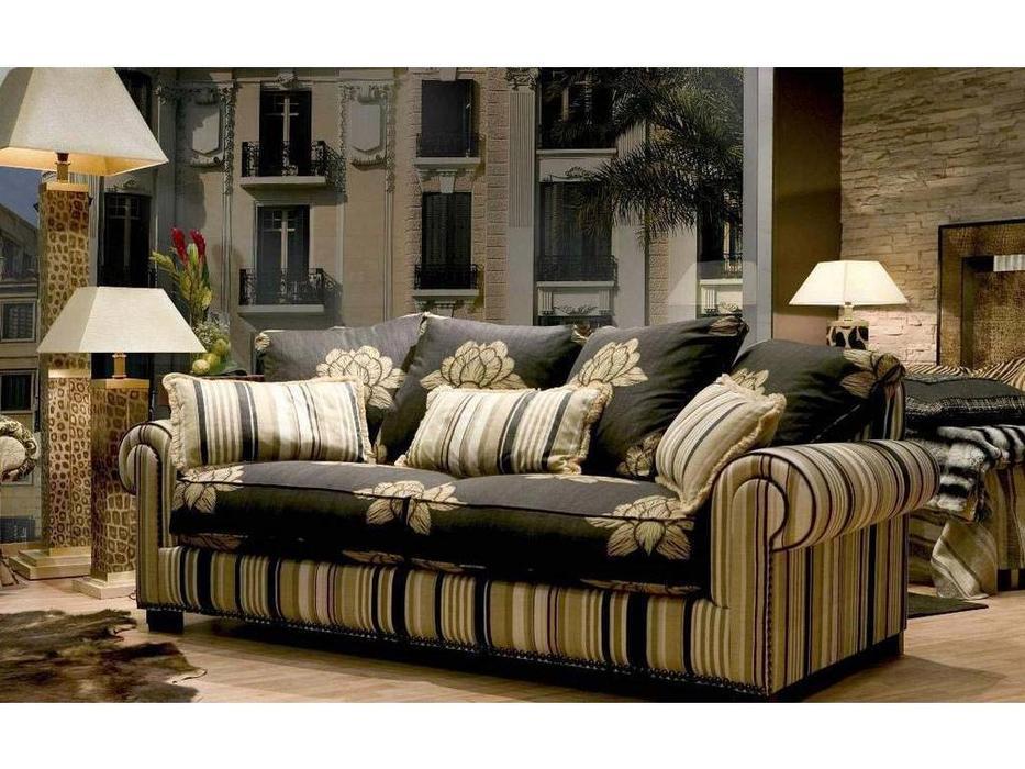 Tecni nova: Luxury: диван 3-х местный ткань FV04