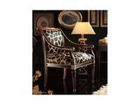 Techni Nova: Harmony: кресло  кожа (орех,черный и золото)