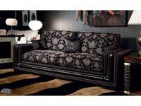 Tecni Nova: Harmony: диван 3-х местный  ткань, кожа