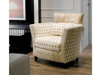 Tecni nova: Argento: кресло  (ткань Serie 6, кожа Serie 18)