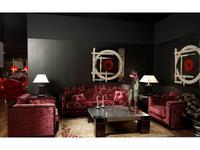 Tecni nova: Diamond: диван 3-местный  (ткань Serie 4, Serie 9)