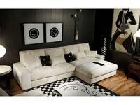Tecni nova: Diamond: диван угловой  (ткань Serie 8)